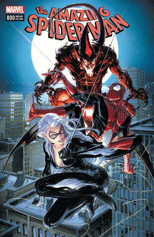 AMAZING SPIDER-MAN #800 LEG COMICXPOSURE CLAYTON CRAIN