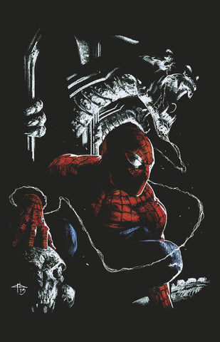 AMAZING SPIDER-MAN #801 LEG DELLOTTO  COMICXPOSURE EXCLUSIVE
