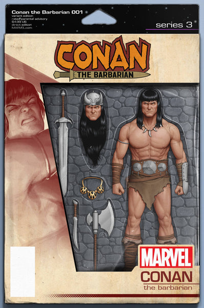 CONAN THE BARBARIAN #1 CHRISTOPHER ACTION FIGURE VAR