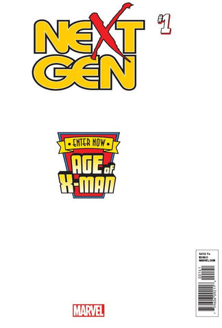 AGE OF X-MAN NEXTGEN #1 (OF 5) SECRET VAR