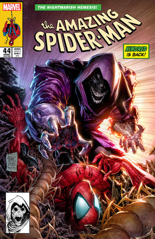 AMAZING SPIDER-MAN #44 PHILIP TAN EXCLUSIVE