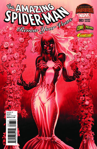 AMAZING SPIDER-MAN RENEW YOUR VOWS #3 MIKE DEODATO BLOOD RED