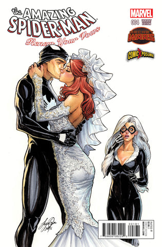 AMAZING SPIDER-MAN RENEW YOUR VOWS #4 SIYA OUM EXCLUSIVE