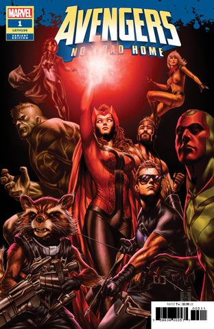 AVENGERS NO ROAD HOME #1 (OF 10) BROOKS VAR