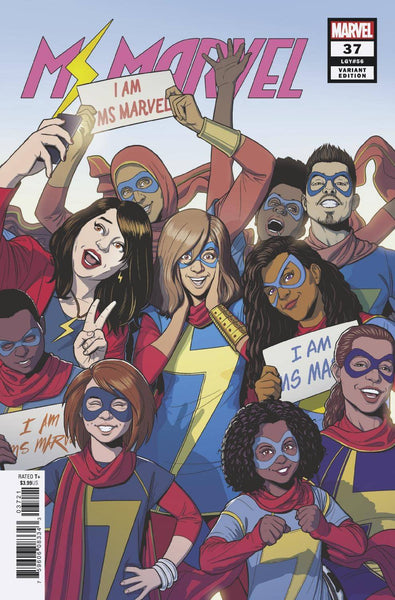 MS MARVEL #37 MCKELVIE VAR