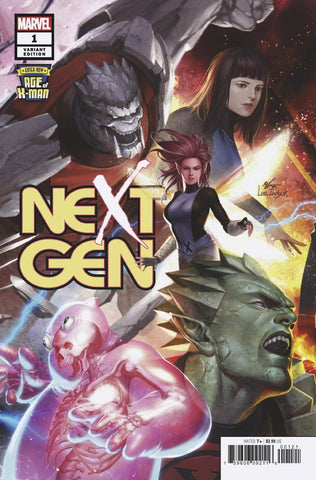 AGE OF X-MAN NEXTGEN #1 (OF 5) INHYUK LEE CONNECTING VAR
