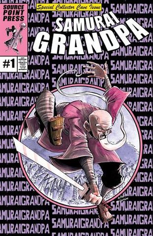 SAMURAI GRANDPA #1 SHAWN DALEY CC HOMAGE VARIANT