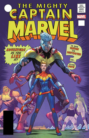 MIGHTY CAPTAIN MARVEL #125 MORA LH LENTICULAR VAR LEG