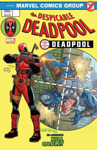 DESPICABLE DEADPOOL #287 ESPIN LH LENTICULAR VAR LEG