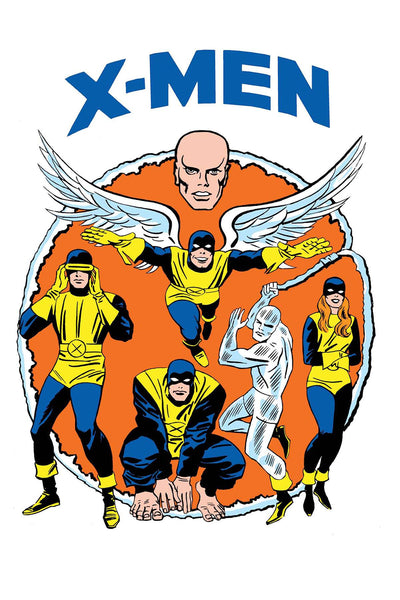X-MEN BLUE #13 KIRBY 1965 T-SHIRT VAR LEG