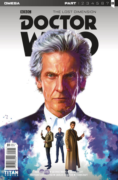 DOCTOR WHO LOST DIMENSION OMEGA #1 CVR A RONALD