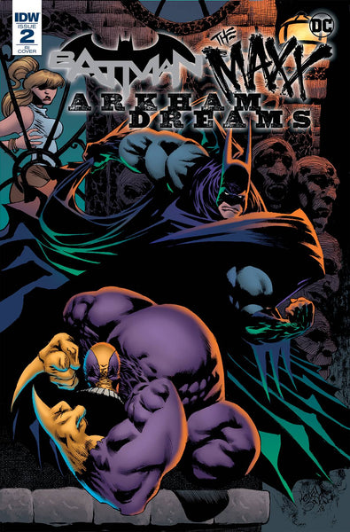 BATMAN THE MAXX ARKHAM DREAMS #2 (OF 5) INCV JONES