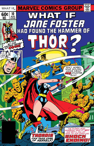 TRUE BELIEVERS WHAT IF JANE FOSTER FOUND HAMMER OF THOR #1