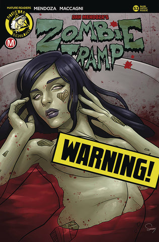 ZOMBIE TRAMP ONGOING #53 JOSE VARESE NYCC 2018 RISQUE VARIANT ACTION LAB COMICS