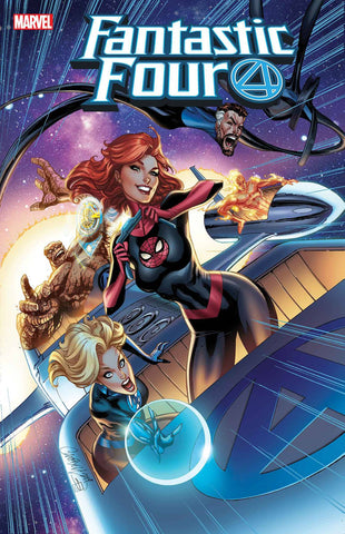 FANTASTIC FOUR #15 J SCOTT CAMPBELL MARY JANE VAR