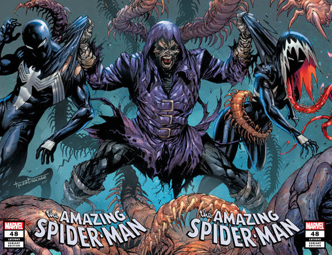 AMAZING SPIDER-MAN #48 TYLER KIRKHAM EXCLUSIVE SET