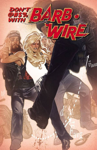 BARB WIRE #1 HUGHES VARIANT COVER