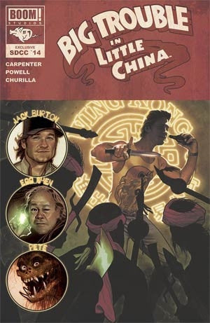 BIG TROUBLE IN LITTLE CHINA #1 SDCC