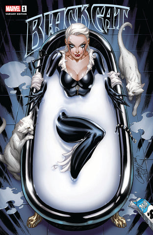 BLACK CAT #1 J SCOTT CAMPBELL COMICXPOSURE EXCLUSIVE