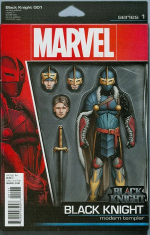 BLACK KNIGHT #1 CHRISTOPHER ACTION FIGURE VAR