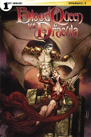 BLOOD QUEEN VS DRACULA #1 CVR A ANACLETO MAIN