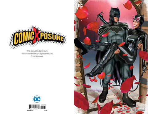 BATMAN #50 COMICXPOSURE GREG HORN 2 PACK EXCLUSIVE