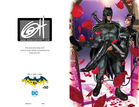 BATMAN #50 COMICXPOSURE GREG HORN 3 PACK EXCLUSIVE