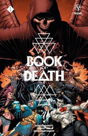 BOOK OF DEATH #1 (OF 4) CVR A GILL