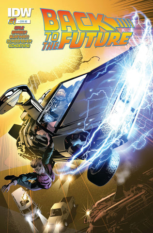BACK TO THE FUTURE #1 (OF 5) AOD EXCLUSIVE VARIANT