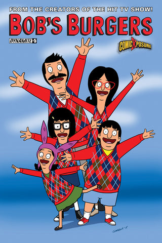 BOBS BURGERS ONGOING #5 COMICXPOSURE EXCLUSIVE