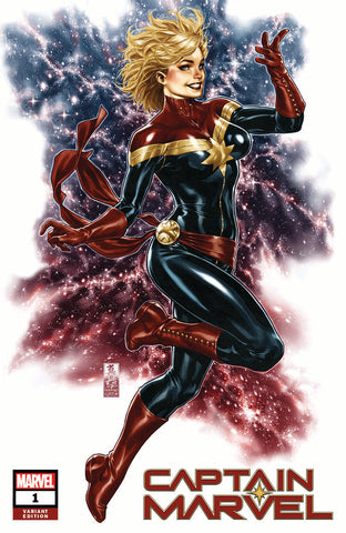 CAPTAIN MARVEL #1 MARK BROOKS EXCLUSIVE
