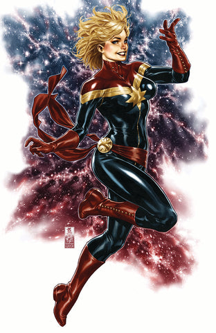 CAPTAIN MARVEL #1 MARK BROOKS 2 PACK EXCLUSIVE