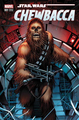 CHEWBACCA #1 (OF 5) AOD COLLECTABLES DALE KEOWN EXCLUSIVE VARIANT
