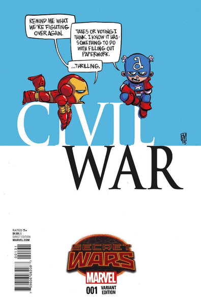 CIVIL WAR #1 YOUNG VAR