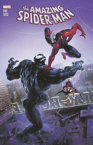 AMAZING SPIDER-MAN #797 LEG COMICXPOSURE CLAYTON CRAIN