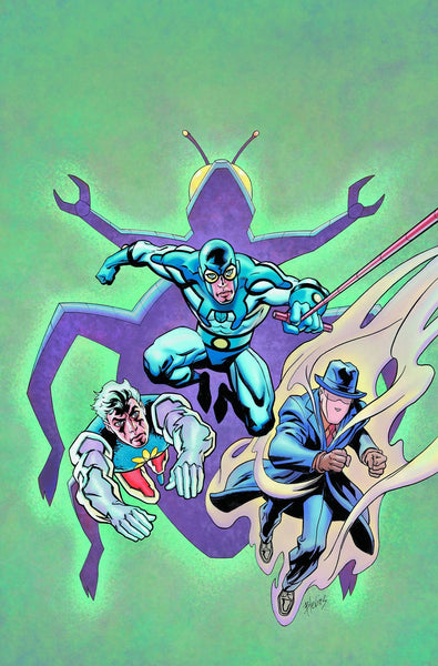 CONVERGENCE BLUE BEETLE #1