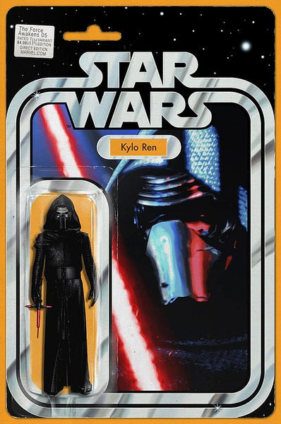 STAR WARS FORCE AWAKENS #5 KYLO REN ACTION FIGURE VARIANT
