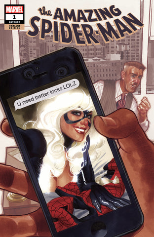AMAZING SPIDER-MAN #1 ADAM HUGHES EXCLUSIVE