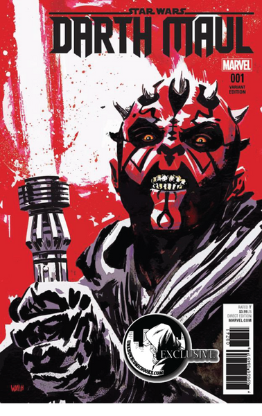 DARTH MAUL #1 UNKNOWN EXCLUSIVE VARIANT