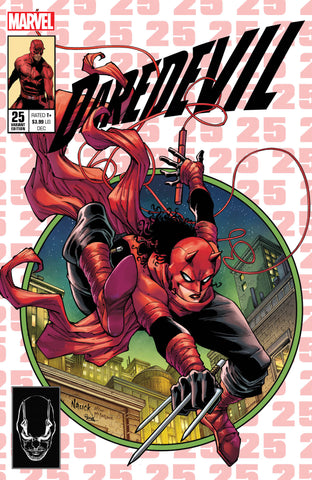 DAREDEVIL #25 TODD NAUCK HOMAGE EXCLUSIVE