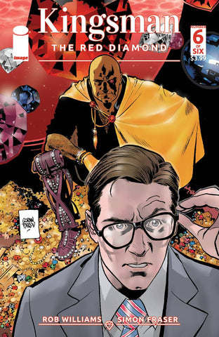 KINGSMAN RED DIAMOND #6 (OF 6) CVR A PARLOV (MR)