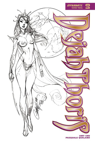 DEJAH THORIS #1 CVR I 50 COPY CAMPBELL B&W INCV