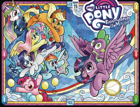 MY LITTLE PONY FRIENDSHIP IS MAGIC #75 CVR A PRICE