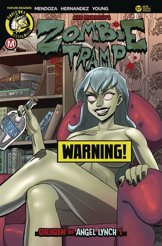 ZOMBIE TRAMP ONGOING #57 CVR F YOUNG RISQUE LTD ED B (MR)