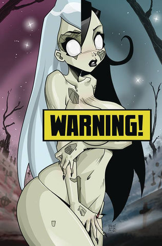 ZOMBIE TRAMP ONGOING #57 CVR K MENDOZA LENTICULAR VIRGIN RISQUE