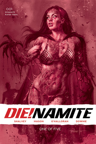 DIE!NAMITE #1 LUCIO PARRILLO RED TINT LIMITED VARIANT