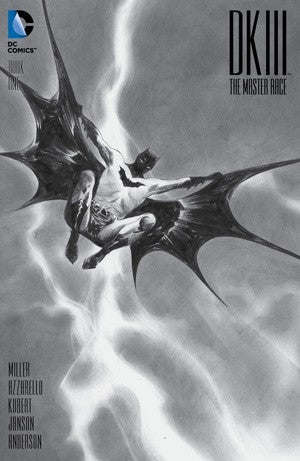 DARK KNIGHT III THE MASTER RACE #1 DYNAMIC FORCES B&W EXCLUSIVE