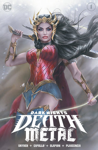 DARK NIGHTS DEATH METAL #1 NATALI SANDERS EXCLUSIVE