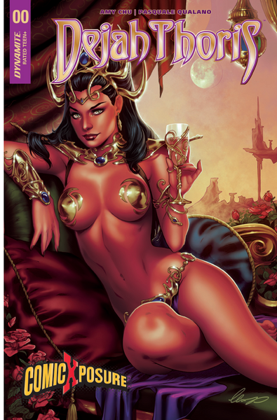 DEJAH THORIS #0 COMICXPOSURE ELIAS CHATZOUDIS EXCLUSIVE
