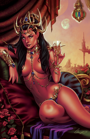 DEJAH THORIS #0 COMICXPOSURE ELIAS CHATZOUDIS 2 PACK EXCLUSIVE